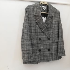 Native Youth checked plaid Blazer Suit
